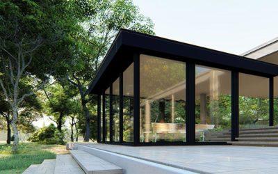 Une extension moderne : la véranda à toit plat