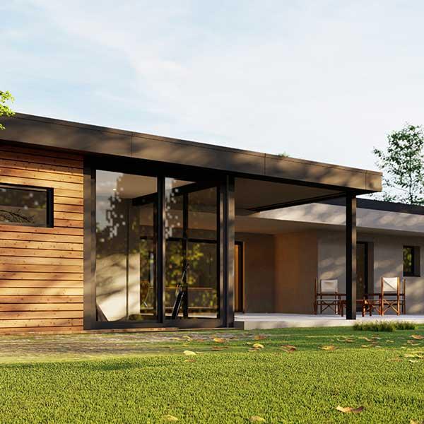espace de vie extension maison