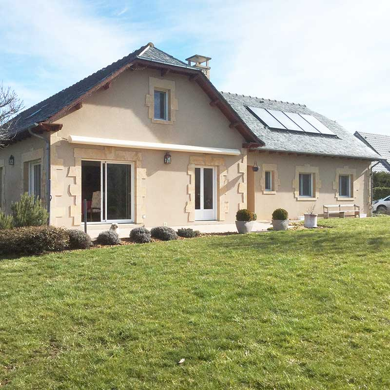 extension maison Avant